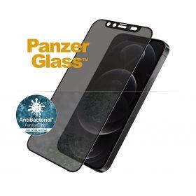شاشة حماية PanzerGlass - Dual Privacy iPhone 12 Pro Screen Protector - إطار أسود