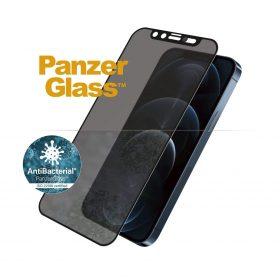 شاشة حماية PanzerGlass - Dual Privacy iPhone 12 Pro Max Screen Protector - إطار أسود