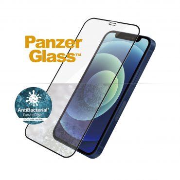 شاشة حماية PanzerGlass - iPhone 12 Mini Screen Protector - إطار أسود