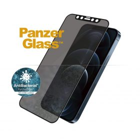 شاشة حماية PanzerGlass - Privacy iPhone 12 Pro Max Screen Protector - إطار أسود