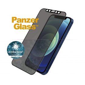 شاشة حماية PanzerGlass - Privacy iPhone 12 Mini Screen Protector - إطار أسود