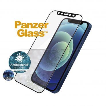 شاشة حماية PanzerGlass - Anti-BlueLight iPhone 12 Mini Screen Protector - إطار أسود