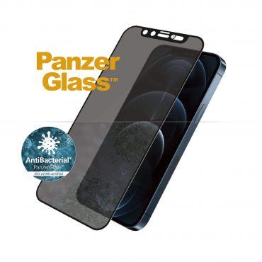 شاشة حماية PanzerGlass - Swarovski Edition iPhone 12 Pro Max