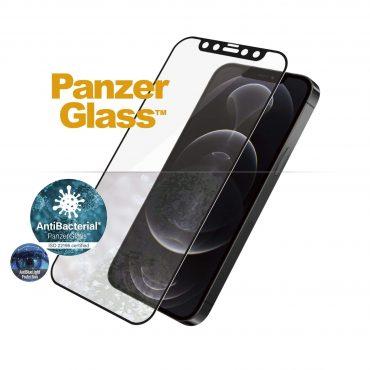 شاشة حماية PanzerGlass - Anti-BlueLight iPhone 12 Pro Screen Protector - إطار أسود