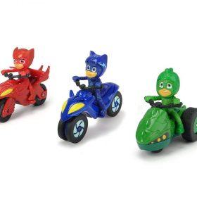لعبة مركبات الأبطال 3 قطع DICKIE - PJ Masks 3-Pack
