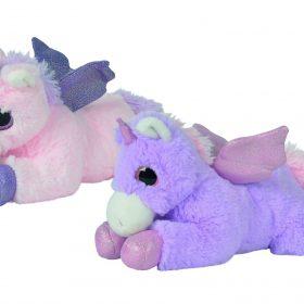دمية يونيكورن الوردية والأرجوانية 27 سم NICOTOY - Unicorn Pink &Purple