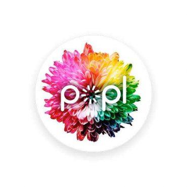 بطاقة التعريف الإلكترونية Popl Instant Sharing Device - Flower