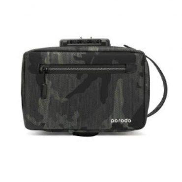 حقيبة Porodo - Lifestyle Anti-Theft Storage Bag 8.2 - أخضر غامق