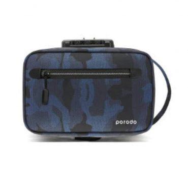 حقيبة Porodo - Lifestyle Anti-Theft Storage Bag 8.2 - أزرق جيشي
