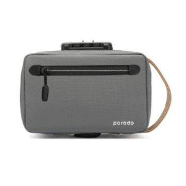 حقيبة Porodo - Lifestyle Anti-Theft Storage Bag 8.2 - رمادي