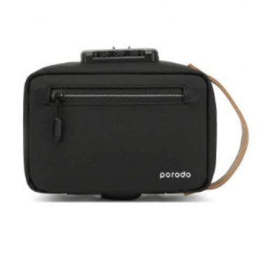 حقيبة Porodo - Lifestyle Anti-Theft Storage Bag 8.2 - أسود