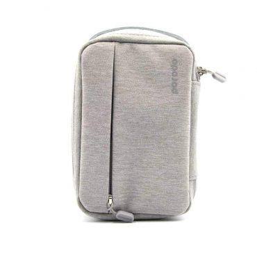 حقيبة سفر مريحة و متينة رمادية