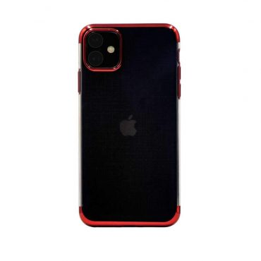 Porodo Beauty Series TPU Case For iPhone 11 - Red_x000D_