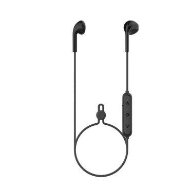 سماعة Porodo - Soundtec Wireless Around-Neck Earbuds - أسود
