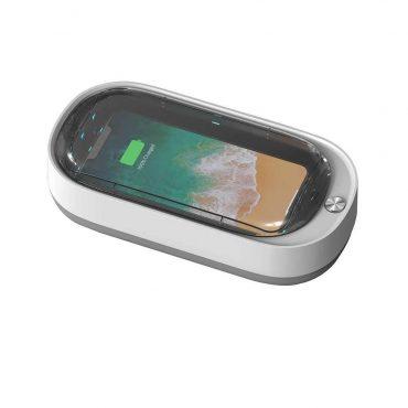 جهاز تعقيم لا سلكي Porodo - Lifestyle UV Sanitiser Hub - أبيض