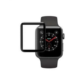 حامية زجاج  شاشة iwatch  ثلاثية الأبعاد -40 مليميتر – أسود
