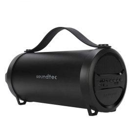 مكبر صوت محمول Porodo Soundtec Chill Compact Portable Speaker - أسود