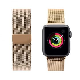 حزام ساعة آبل iGuard 44 مللي/ 42 مللي - ذهبي