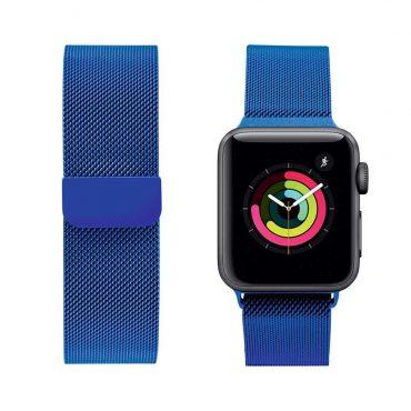 حزام ساعة آبل 44 ملم/ 42 ملم - أزرق