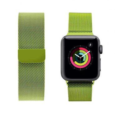 حزام ساعة آبل 44 ملم/ 42 ملم - أخضر