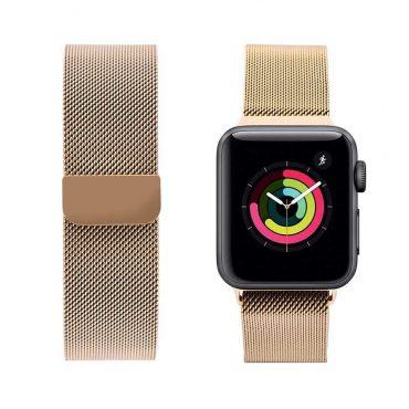 حزام ساعة آبل 44 ملم/ 42 ملم - ذهبي
