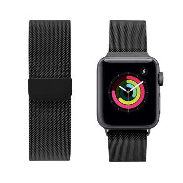 حزام ساعة آبل 40 ملم/ 38 ملم - أسود
