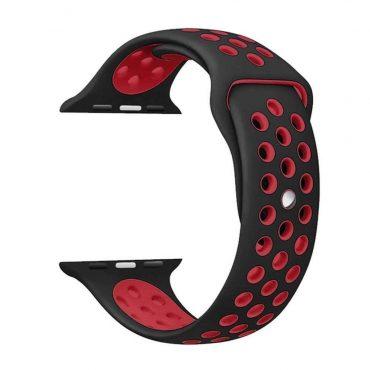 حزام ساعة آبل نايك الرياضي بتصميمه الأنيق 44 مللي/42 مللي - جميع الألوان