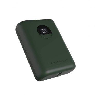 باور بانك Powerology Ultra-Compact Power Bank 10000mAh PD 18W - أخضر