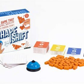 لعبة ألغاز Professor Puzzle - SHAPE SHIFT
