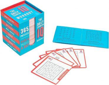لعبة ألغاز Professor Puzzle - THE DAILY CRANIUM WORKOUT Puzzle