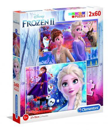 لعبة تطبيقات 2×60  قطعة CLEMENTONI – Disney Frozen