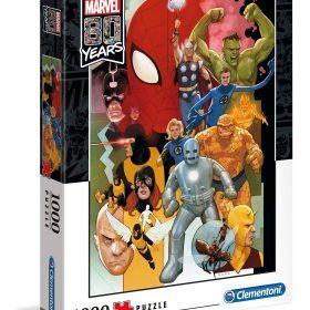 لعبة تطبيقات 1000  قطعة CLEMENTONI – Marvel Heroes