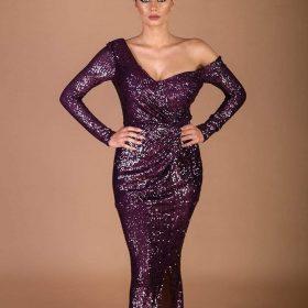 فستان ترتر ساده 389
