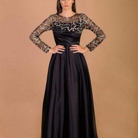 فستان ستان جليتر 2390