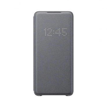 كفر Samsung - Galaxy S20+-S20+ 5G Smart Led View Cover - رمادي