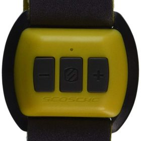 جهاز مراقبة نبضات الذراع Scosche Rhythm - Bluetooth Armband Pulse Monitor - أصفر