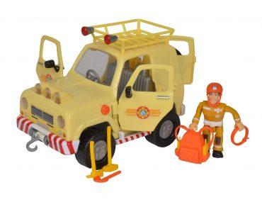 لعبة شاحنة سام رجل الإطفاء Fireman Sam Mountain 4*4 - Simba