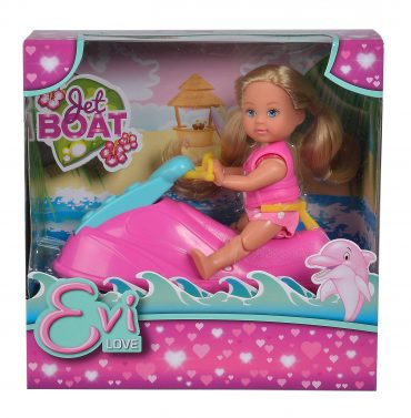 لعبة قارب باربي SIMBA - ELVI LOVE JET BOAT