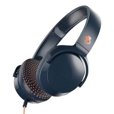 سماعة رأس لاسلكية Riff Wireless On-Ear Headphones with Tap Tech Skullcandy - أزرق
