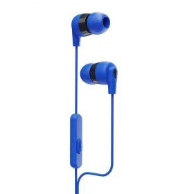 سماعة رأس مع ميكروفون Inkd+ In-Ear Headphones with Mic Skullcandy - أزرق/ أسود