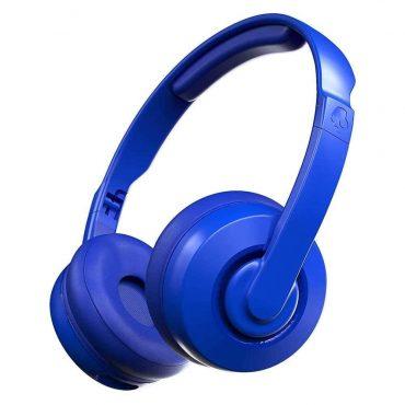 سماعات رأس لاسلكية Skullcandy Cassette Wireless On-Ear Headphones - أزرق