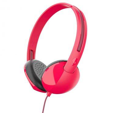 سماعة رأس Skullcandy Stim On-Ear Headphones - Red
