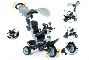 دراجة للأطفال Smoby - Baby Driver Comfort 2 - رمادي