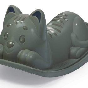 لعبة المقعد الهزاز Smoby - Cat Rocker - رمادي