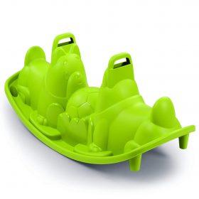 لعبة التوازن Smoby - Dogs Seesaw - أخضر