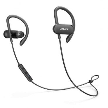 سماعات أذن لاسلكية أصلية Anker SoundBuds  من Soundcore - أسود