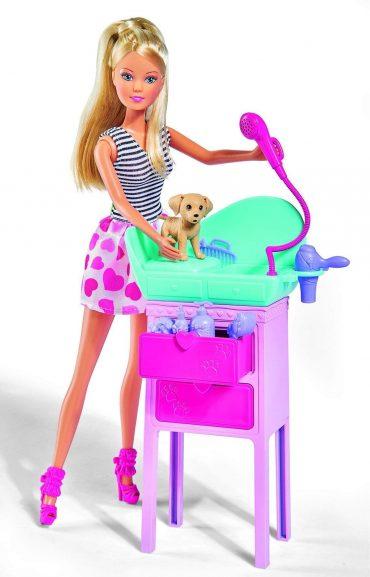 لعبة دمية مع صالون حيوانات SIMBA - SL Cute Pet Salon