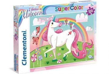 لعبة تطبيقات 104 قطعة CLEMENTONI - Unicorns