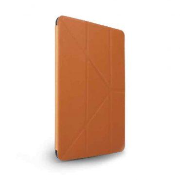 كفر أصلي دفتر Elegante مع حامل قلم آبل لiPad Mini (2019) من Viva Madrid - بني