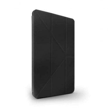 كفر أصلي دفتر Elegante مع حامل قلم آبل لiPad Air (2019) من Viva Madrid - أسود